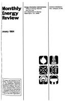 Monthly Energy Review PDF