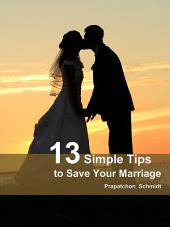 13 Simple Tips to Save Your Marriage