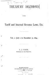 Treasury Decisions Under Customs and Other Laws: Volume 2