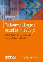 Webanwendungen erstellen mit Vue js PDF