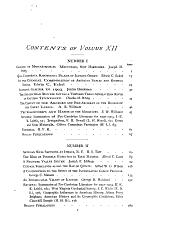 The Journal of Geology: Volume 12