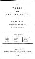 The Works of the British Poets  Young  Gray  West  R   Lyttleton  Moore  Boyse  Thompson  Cawthorn  Churchill  Falconer  Lloyd  Cunningham  Green  Cooper  Goldsmith  Whitehead  P   Brown  Grainger  Smollett  and Armstrong PDF