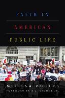 Faith in American Public Life