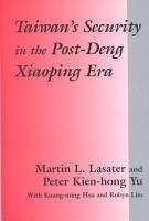 Taiwan s Security in the Post Deng Xiaoping Era PDF