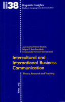 Intercultural and International Business Communication PDF