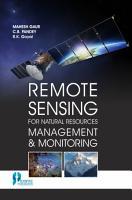 Remote Sensing For Natural Resources Management   Monitoring PDF