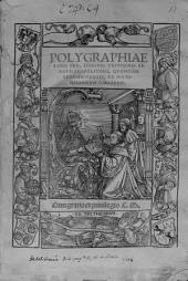 Polygraphiae libri sex, Ioannis Trithemii ...