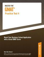 Master the GMAT--Practice Test 4