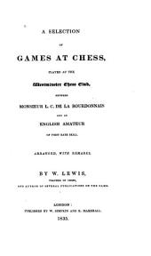 A selection of games at chess