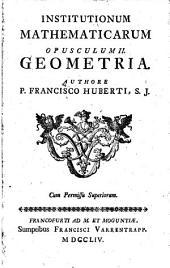 Institutiones mathematicae: Geometria. 2