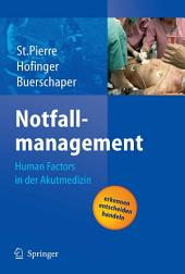 Notfallmanagement: Human Factors in der Akutmedizin