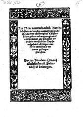 Ain new wunderbarlich Beychtbüchlein, in dem die warhafftig gerecht Beycht ... geleert und angezaygt wirt (etc.)