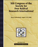 Thirteenth Congress of the Society for Free Radical Research International