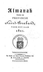 Almanak voor de Provincie Noord-Braband, voor het jaar ....: Volume 7