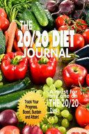 The 20 20 Diet Journal Book