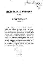 Ragguaglio storico ec. ec. dispensa 2.a