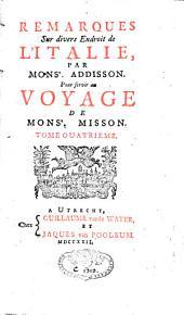Voyage d'Italie: Volume4