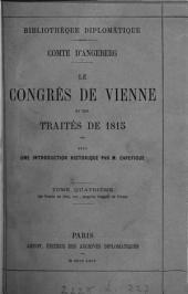 CONGRES DE VIENNE ET LES TRAITES DE 1815