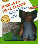 If You Give a Mouse a Cookie Mini Book   Doll