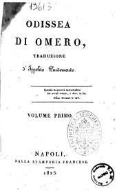 Odissea di Omero, traduzione d'Ippolito Pindemonte: 1