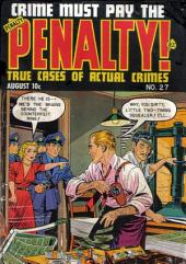 Crime Must Pay The Penalty No. 27