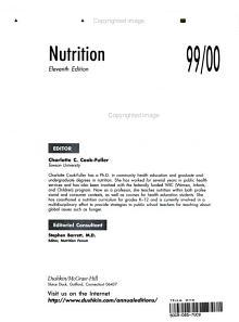 Nutrition 99 00 PDF