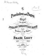 6 Praeludien und Fugen: für die Orgel, Pedal und Manual, Volume 1