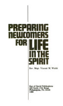 Preparing Newcomers for Life in the Spirit PDF