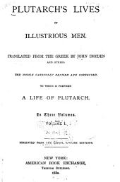Plutarch's Lives of Illustrious Men: Volume 1