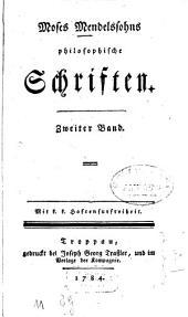 Philosophische Schriften: Band 2