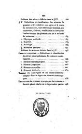 Essai sur la philosophie des sciences: Partie1