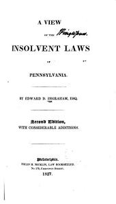 A View of the Insolvent Laws of Pennsylvania