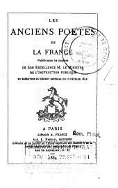 Hugues Capet, chanson de geste: Volume8