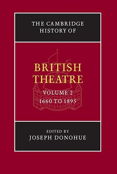 Download The Cambridge History of British Theatre Book