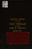 Biennial Report of the Controller of State for the     Fiscal Years PDF