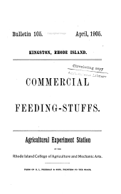 Commercial feeding-stuffs