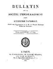Bulletin de la Société d'encouragement pour l'industrie nationale: Volume19