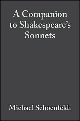 A Companion to Shakespeare s Sonnets