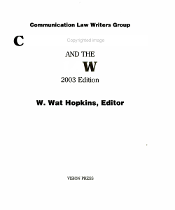 Communication and the law PDF