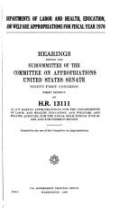 Hearings  Reports and Prints of the Senate Committee on Appropriations PDF