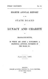Annual Report of the State Board of Lunacy and Charity of Massachusetts: 1886, Volume 8, Parts 1885-1886