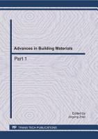 Advances in Building Materials  CEBM 2011 PDF