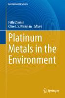 Platinum Metals in the Environment PDF