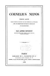 Cornelius Nepos: texte latin