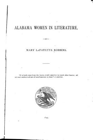 Alabama Women in Literature PDF