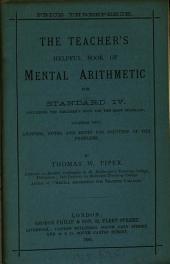 The teacher's helpful book of mental arithmetic. Standard 1(-6).