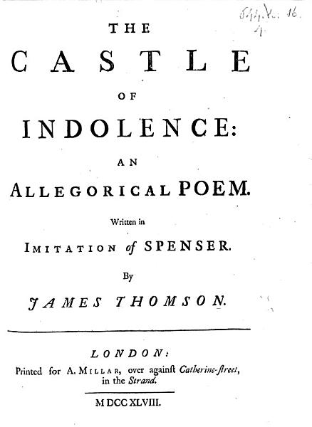 Download The Castle of Indolence Book
