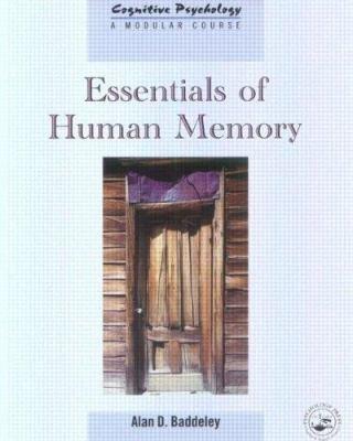 Essentials of Human Memory PDF