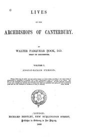Lives of the Archbishops of Canterbury: Anglo-Saxon period