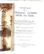 Journals Kept in Hyderabad, Kashmir, Sikkim, and Nepal: Volume 2